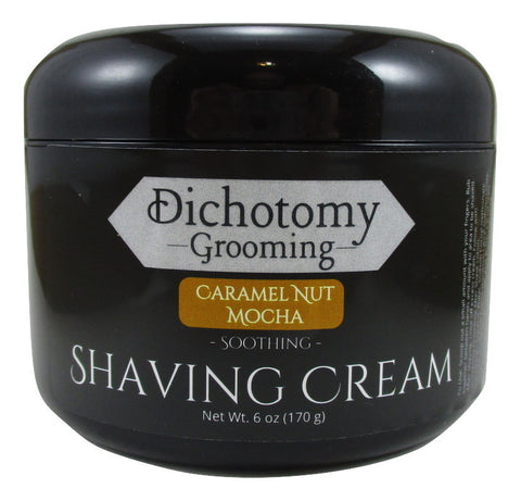Caramel Nut Mocha Face and Head Shaving Cream