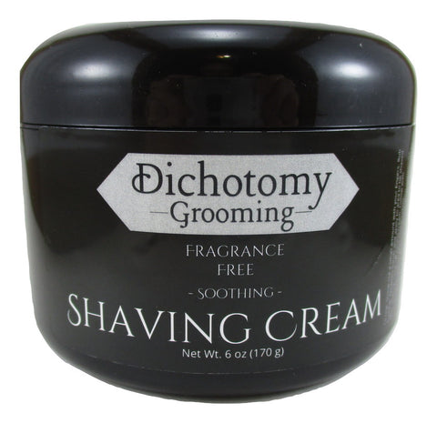 Fragrance Free Face and Head Shaving Cream