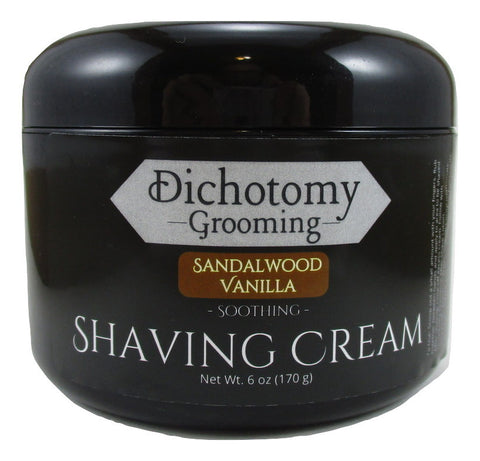 Sandalwood Vanilla Face and Head Shaving Cream