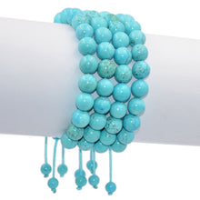 Load image into Gallery viewer, Turquoise Healing Adjustable Bracelet