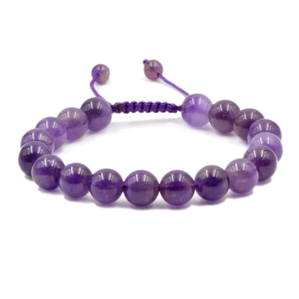 Amethyst Healing Adjustable Bracelet