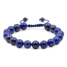 Load image into Gallery viewer, Lapis Lazuli Adjustable Bracelet