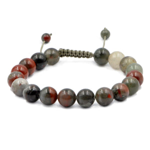 Bloodstone Healing Adjustable Bracelet