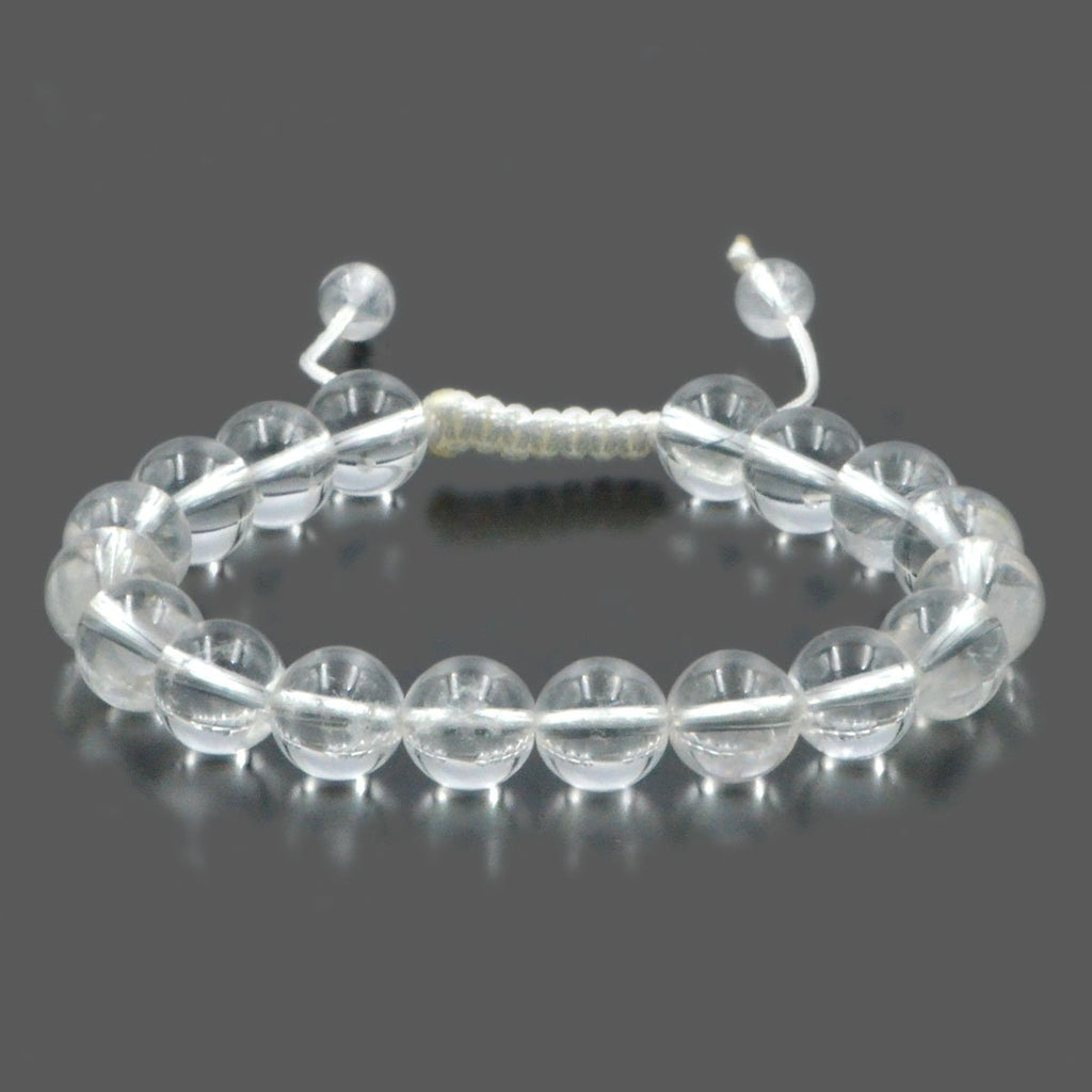 Crystal Quartz Healing Adjustable Bracelet