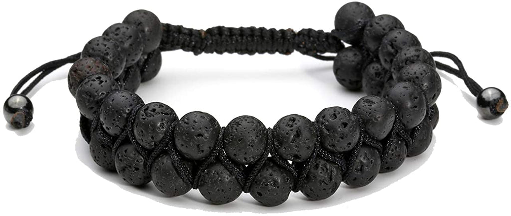 2 Layer Lava Oil Diffuser Protection Bracelet