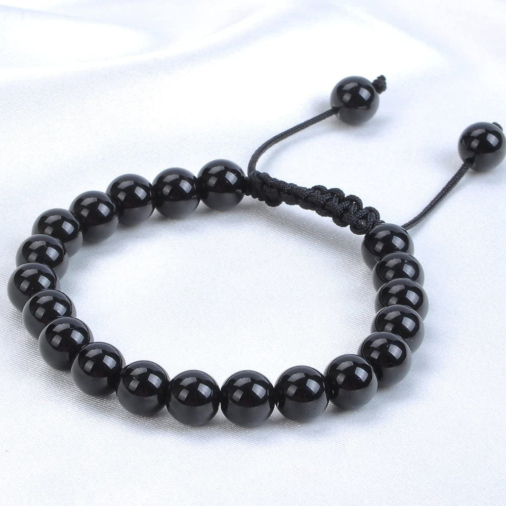 Black Onyx Healing Adjustable Bracelet