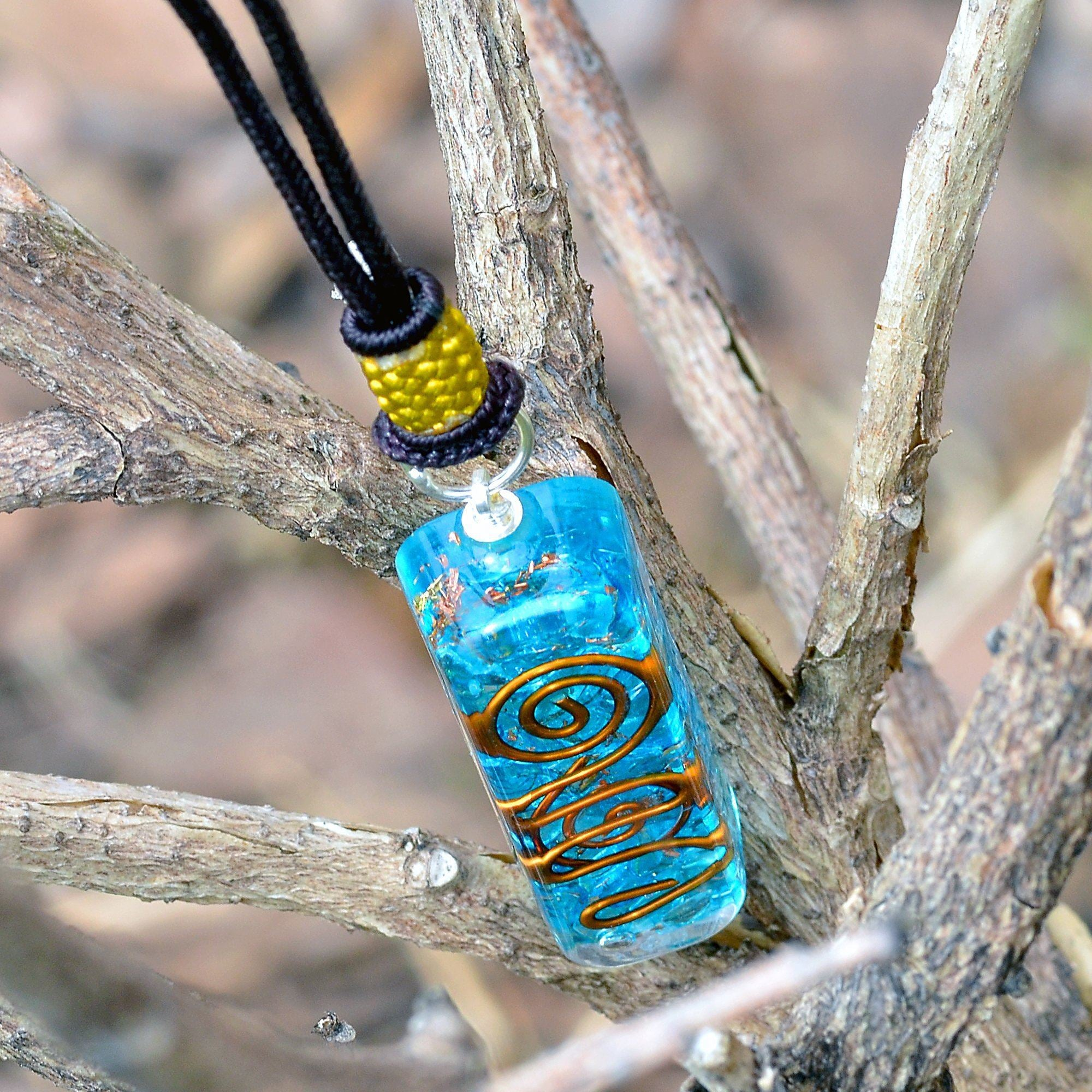 Aquamarine Generator Necklace
