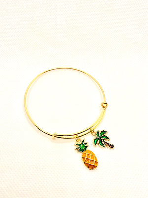 Life is a Summertime Breeze Bangle Bracelet