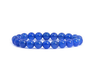 Blue Natural Agate Bracelet
