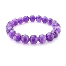 Load image into Gallery viewer, African Amethyst Bracelet Grade A