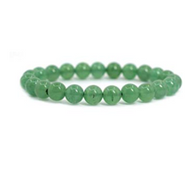 Load image into Gallery viewer, Green Aventurine Stretch Bracelet