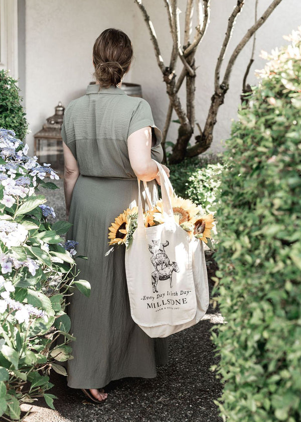 Organic Canvas Totes