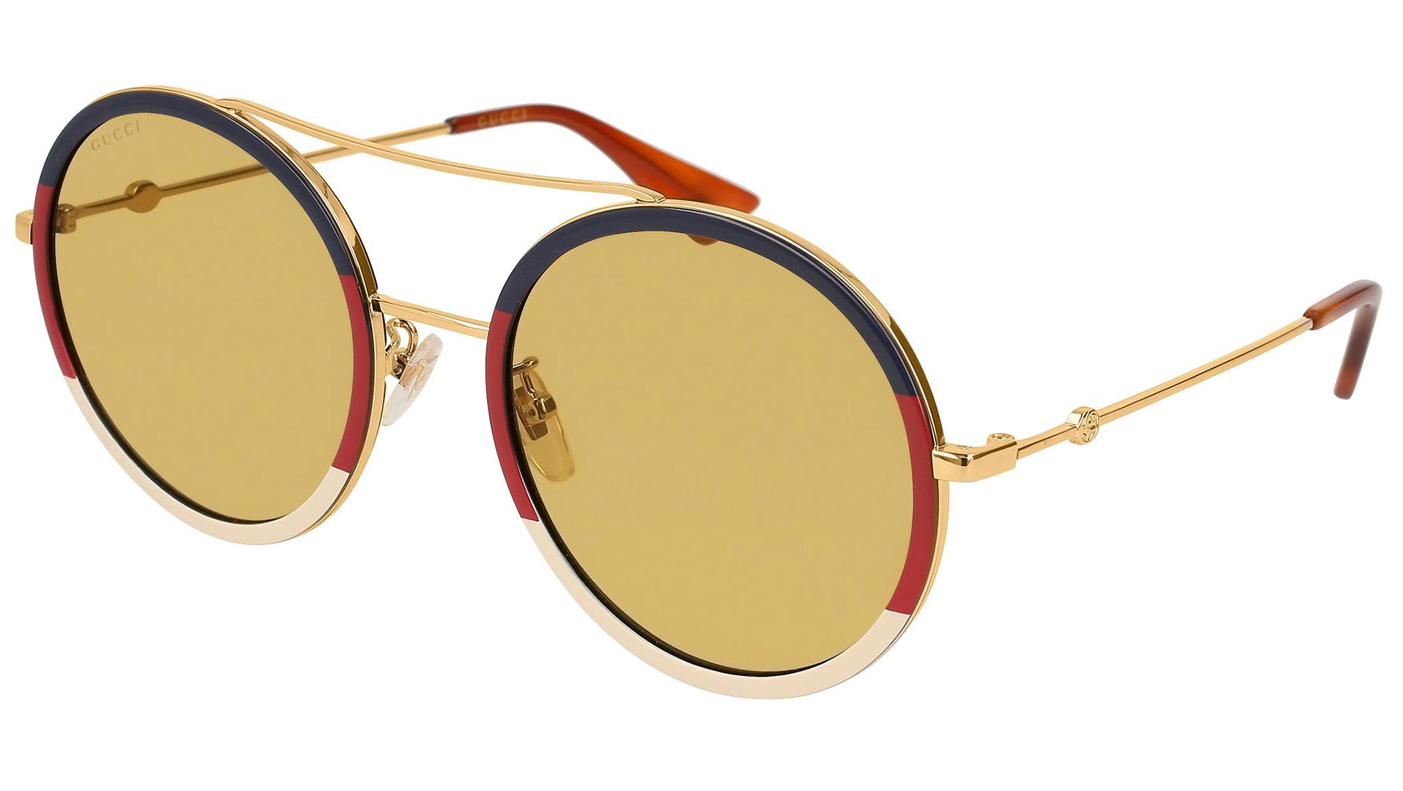 GG0061S multicolor gold and nicotine--eye-oo.it