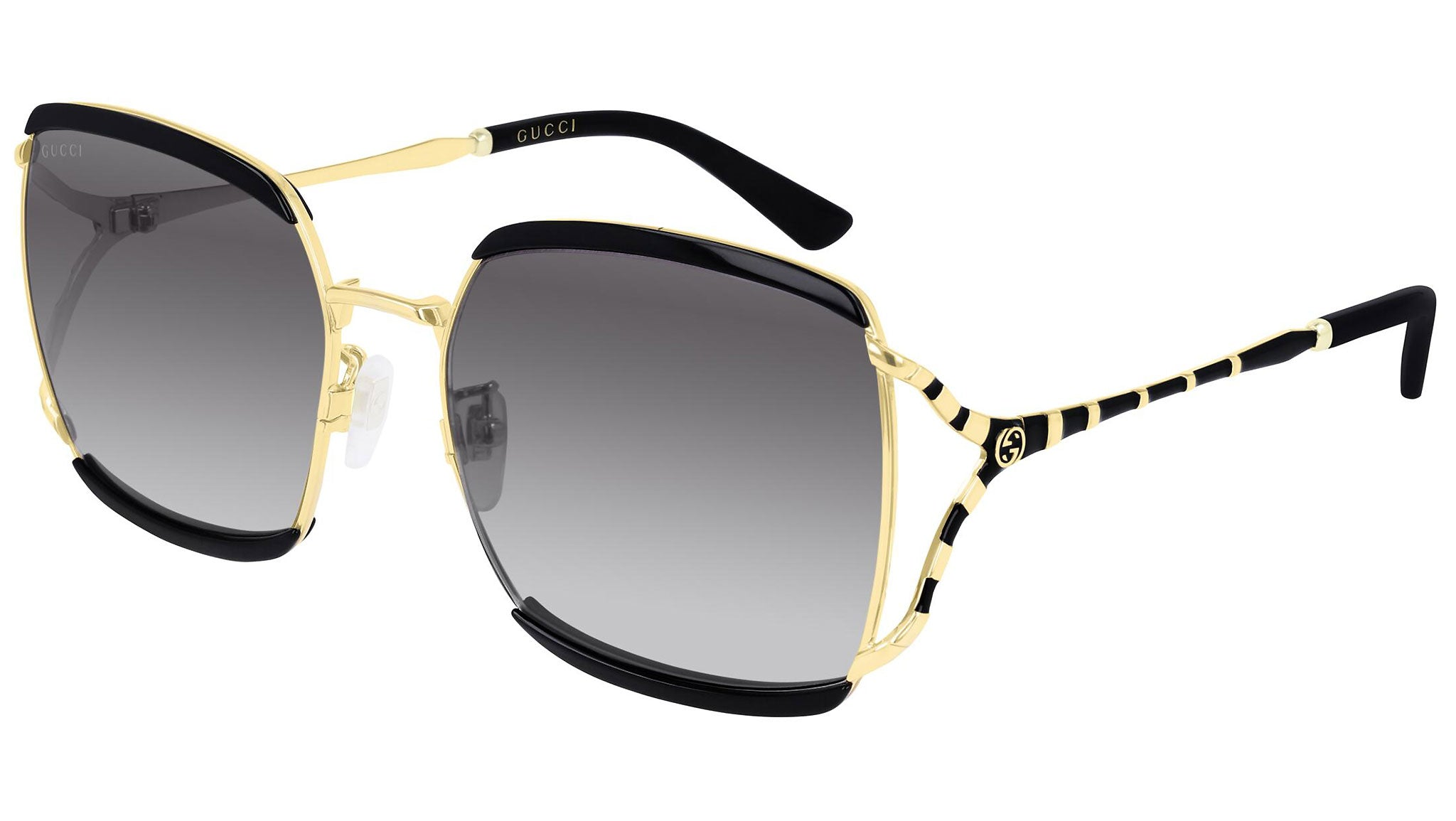 GG0593SK gold black and double grey/nude--eye-oo.it
