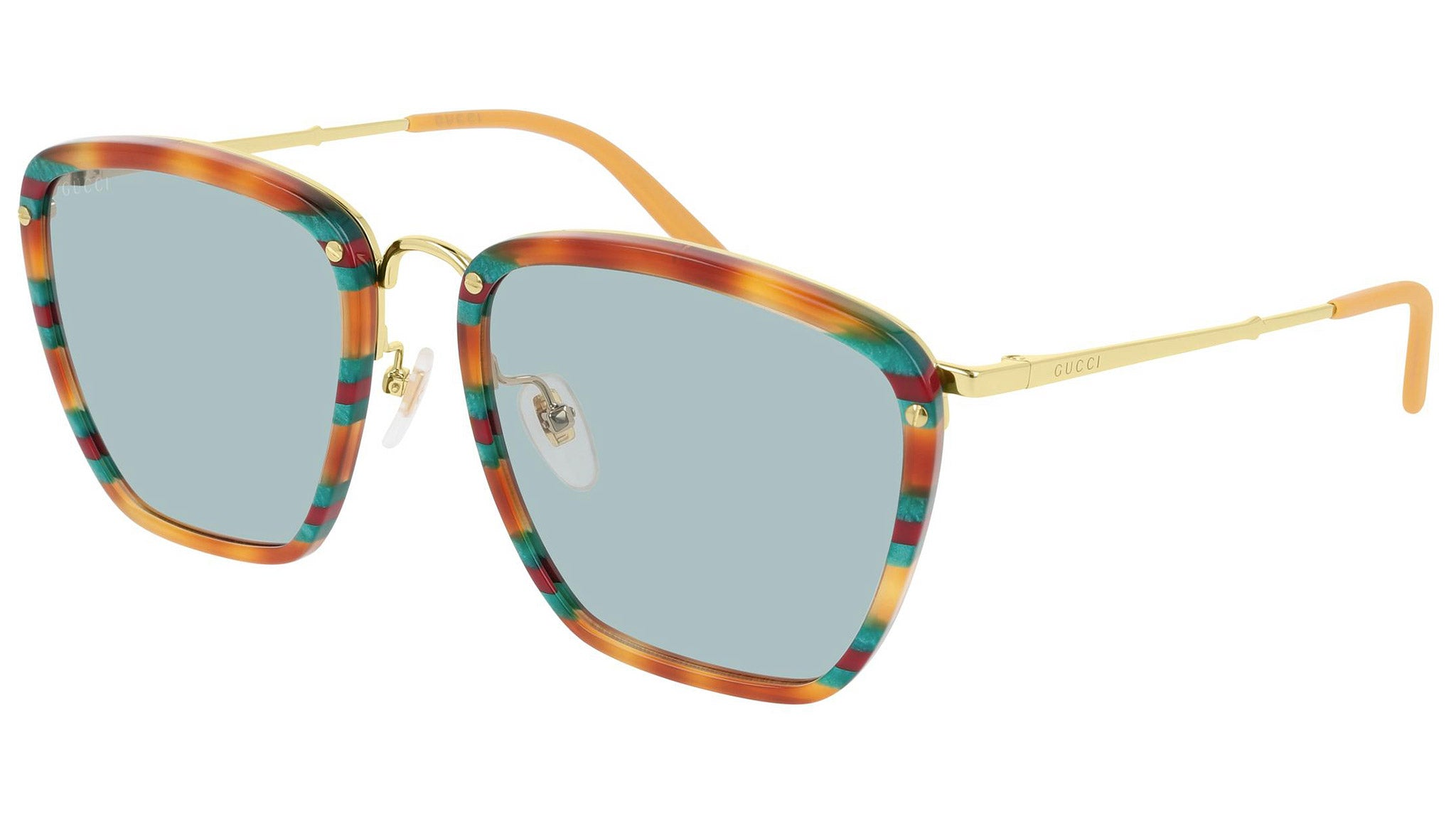 GG0673S multicolor havana and ice blue--eye-oo.it