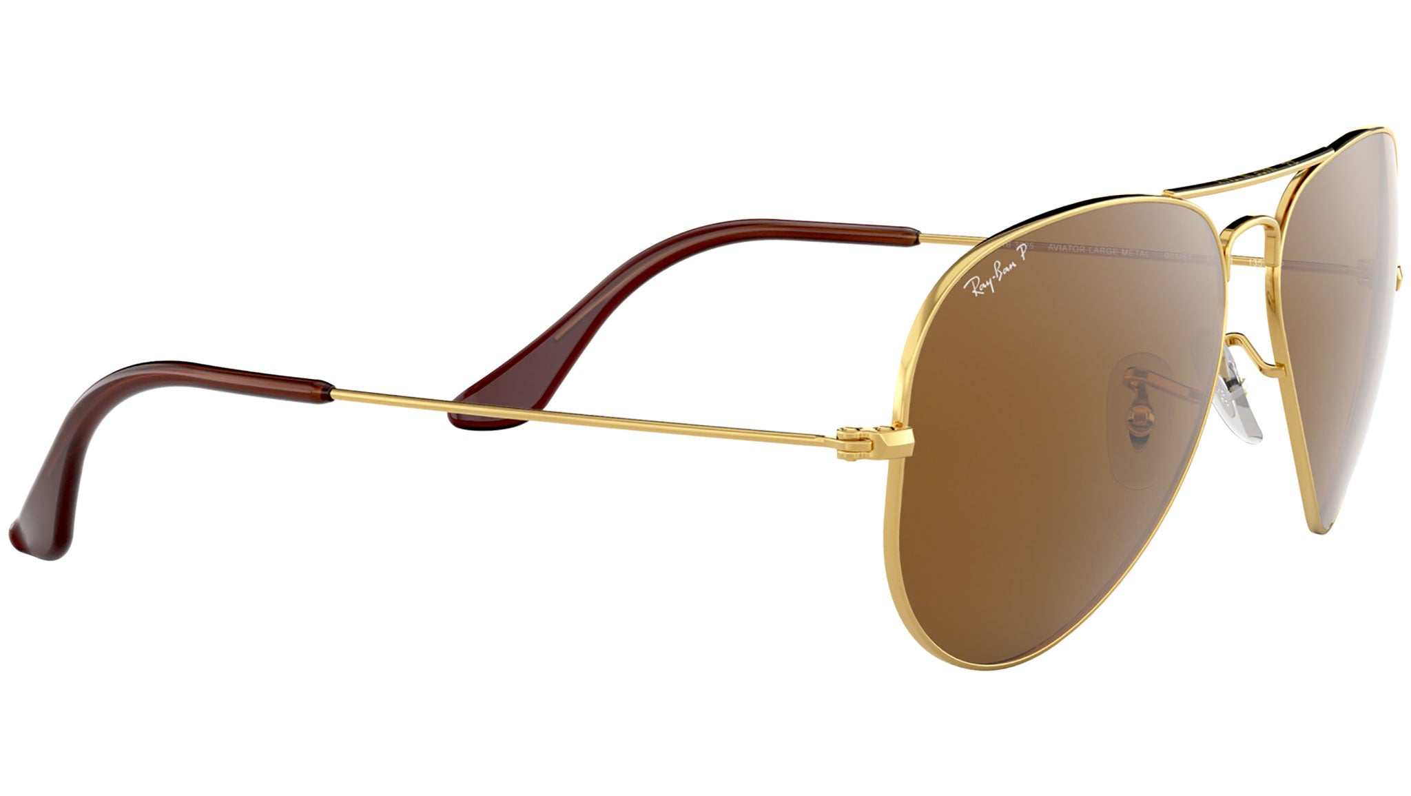 Aviator Classic RB3025 polished gold brown--eye-oo.it