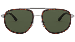 PO2465S gunmetal and havana green