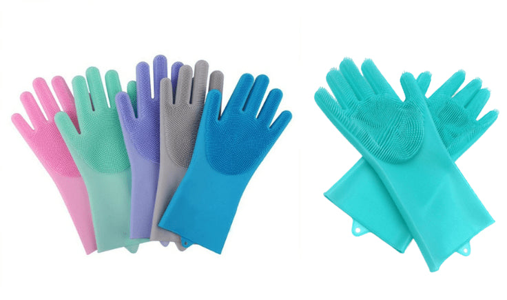use rubber gloves