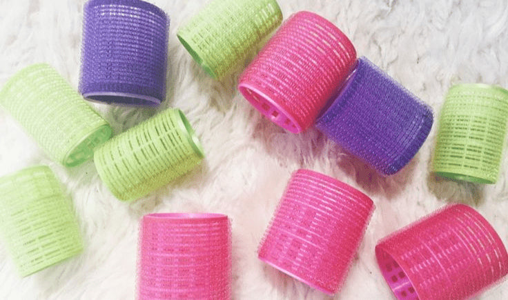 use velcro curlers