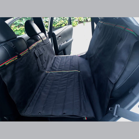dog car seat cover made in usa for trucks, sedans, teslas and suvs