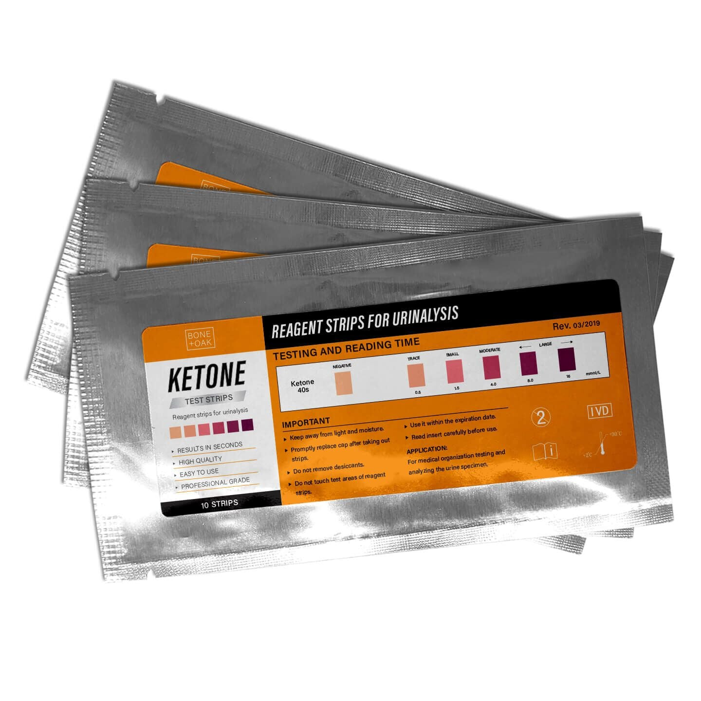Ketone Test Strips (3 Free)