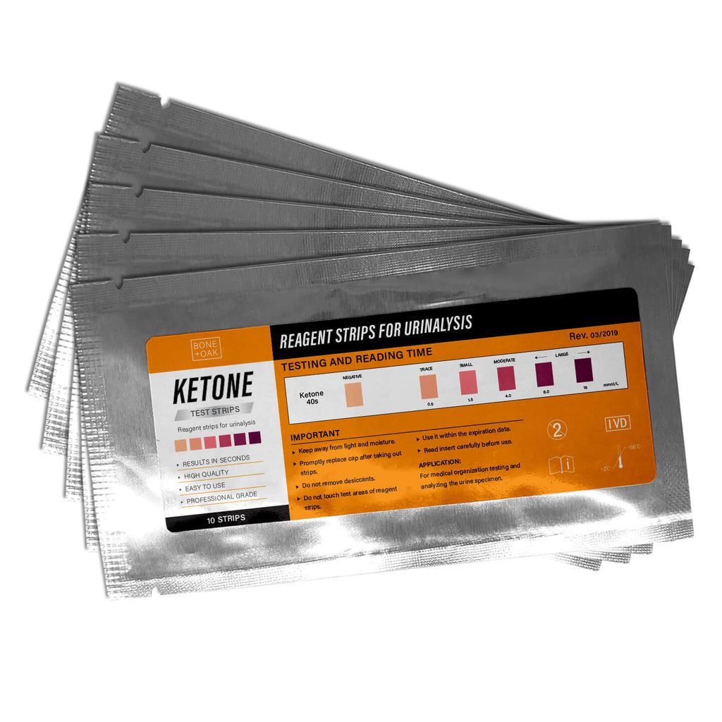 Ketone Test Strips (5 Pouches)