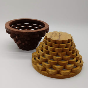 Petite Weaved Basket - Kripp's Kreations