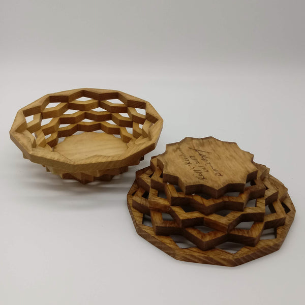 Pentagon Decorative Basket - Kripp's Kreations