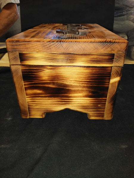 Custom Wood Burned Jewelry Box - Kripp's Kreations