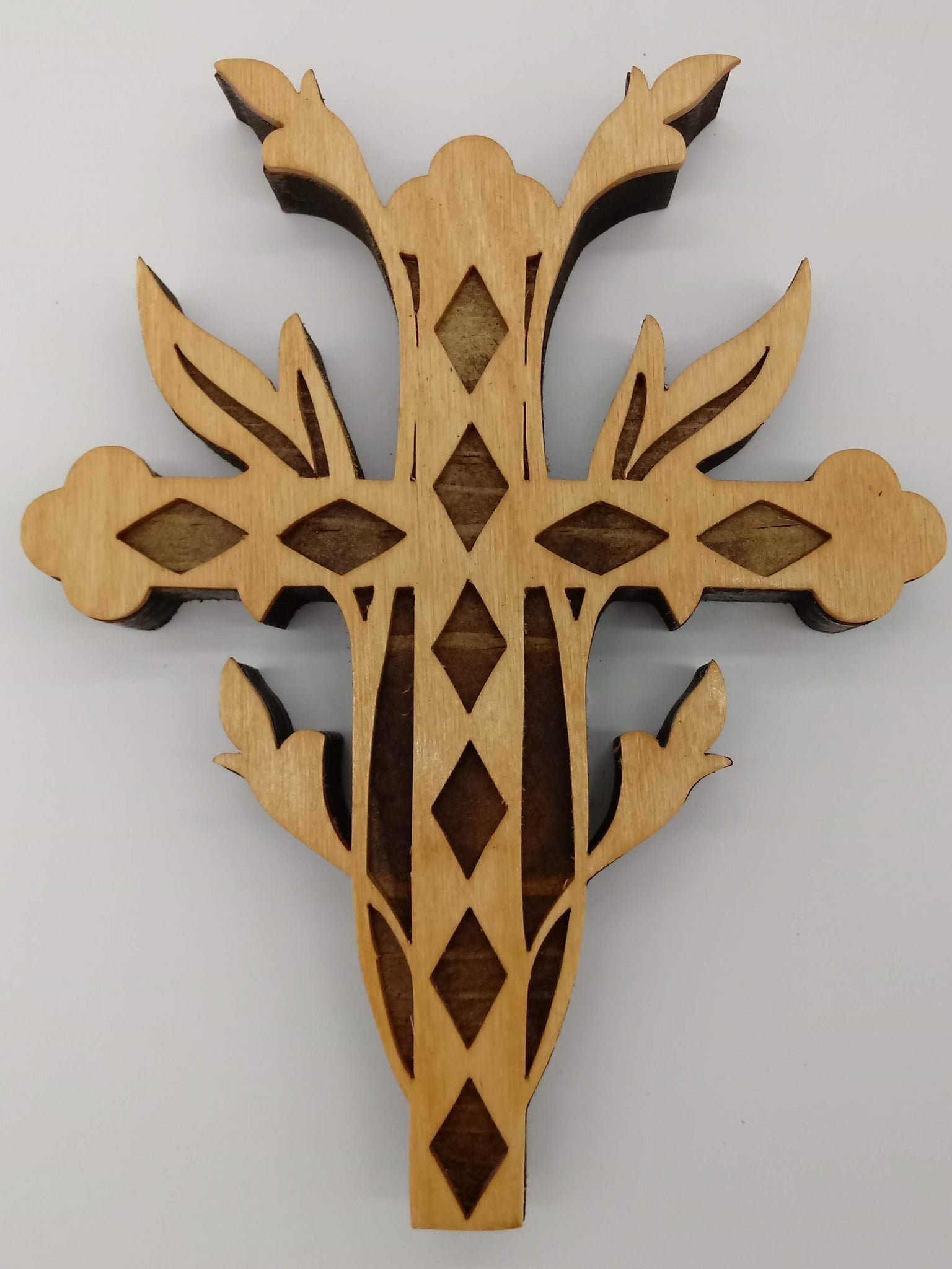 Ivy Ornate Decorative Cross - Kripp's Kreations