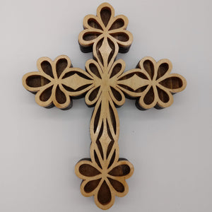 Decorative Butterfly Ornate Cross - Kripp's Kreations