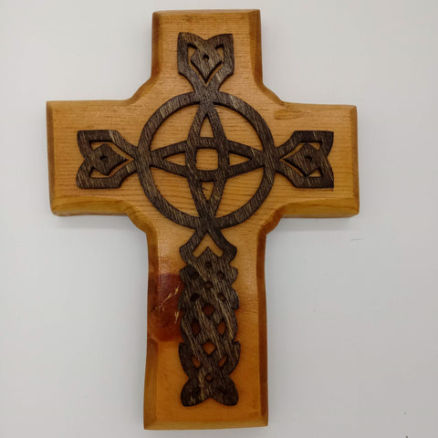 Celtic Circle Decorative Cross - Kripp's Kreations
