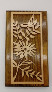 Butterfly Floral Fretwork Decoration - Kripp's Kreations