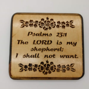 Psalms 23:1 The Lord is My Shepherd - Kripp's Kreations