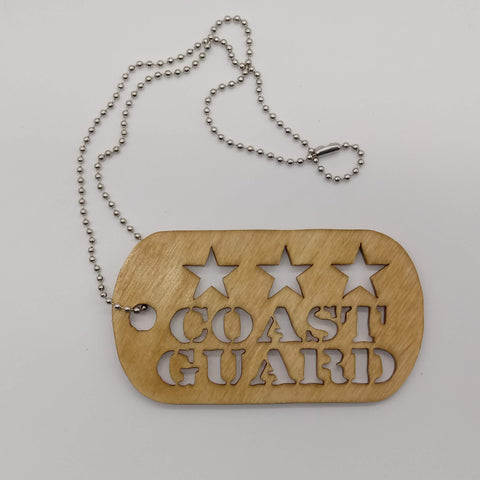 Keepsake Coast Guard Dog Tags - Kripp's Kreations