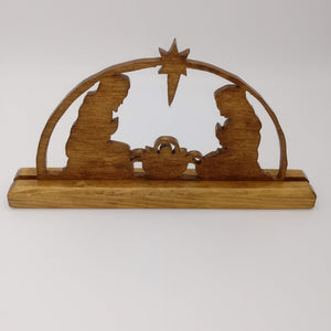 Nativity Manger Shelf Display - Kripp's Kreations