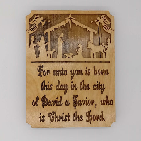 Nativity Wall Hanging - Kripp's Kreations