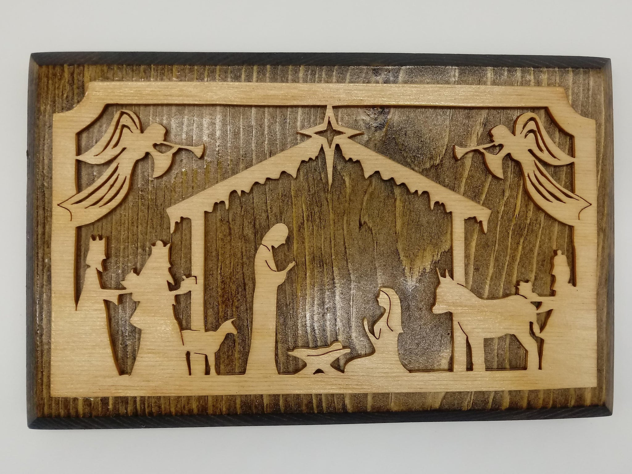 Square Nativity Wall Hanging - Kripp's Kreations