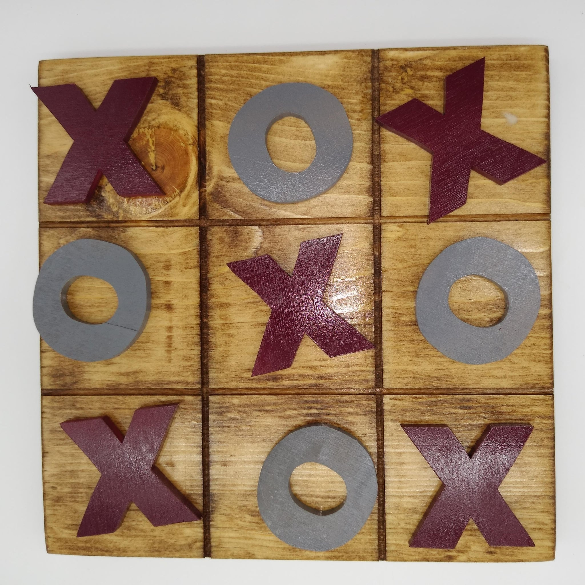 Tic Tac Toe Board Texas A&M Aggies