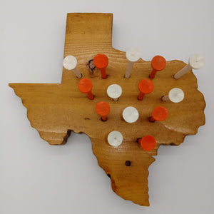 Texas Wooden Peg Game - Kripp's Kreations
