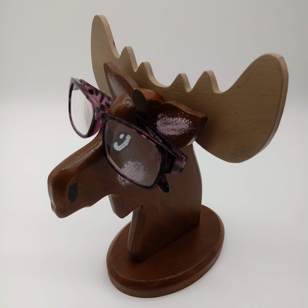 Novelty Moose Eyeglass Holder - Kripp's Kreations
