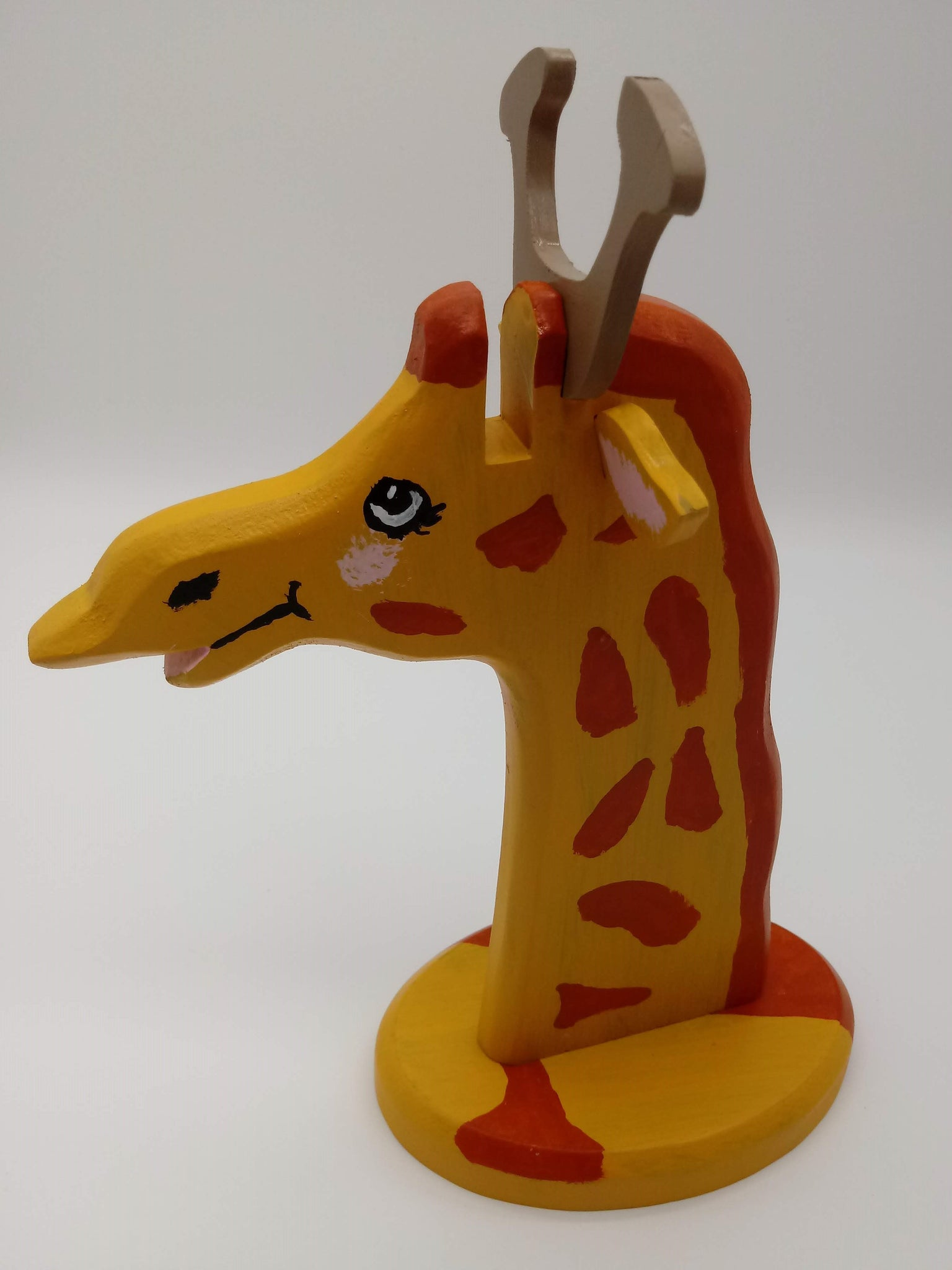 Novelty Giraffe Eyeglass Holder - Kripp's Kreations