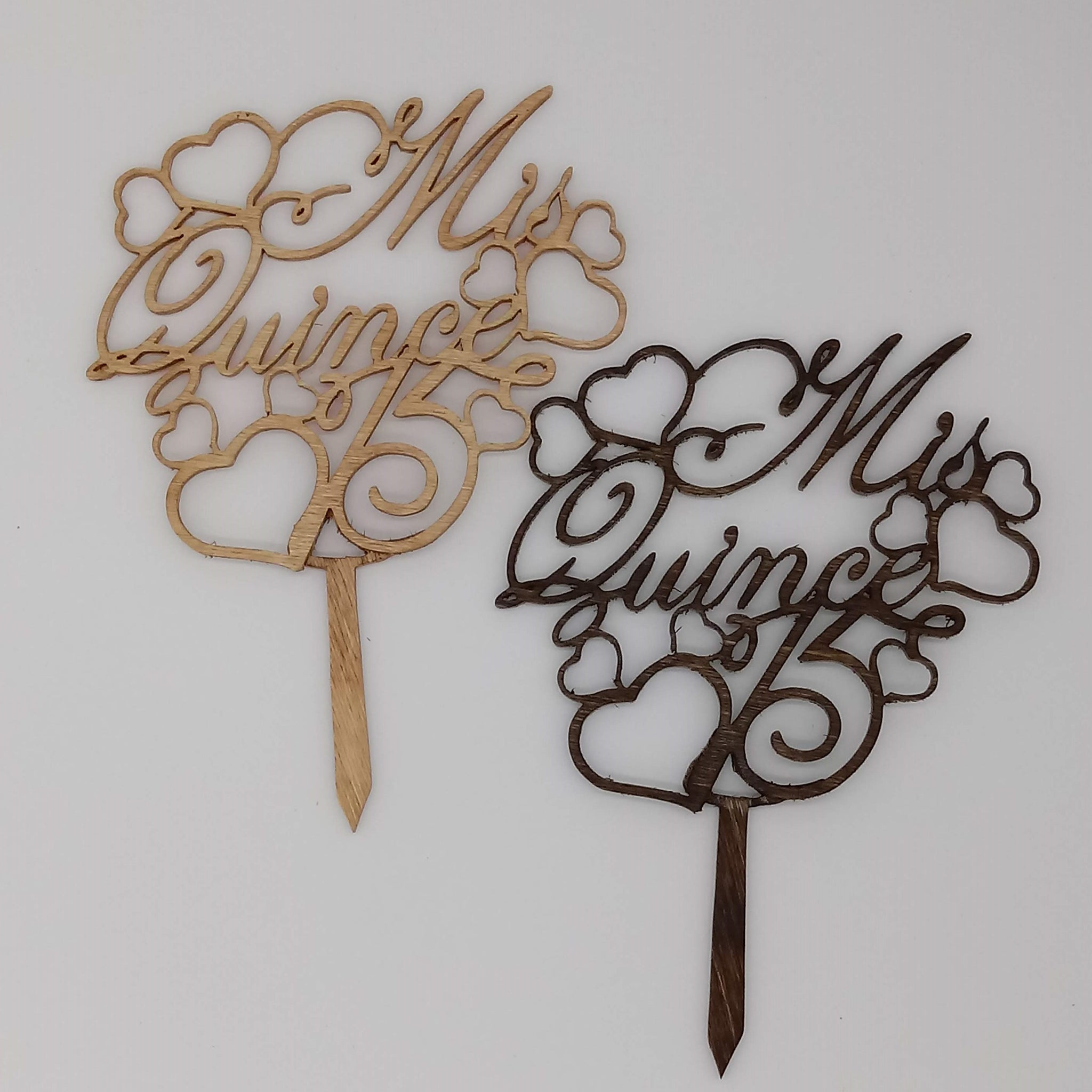 Quinceanera Cake Topper - Kripp's Kreations