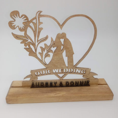 Our Wedding Table Decoration - Kripp's Kreations