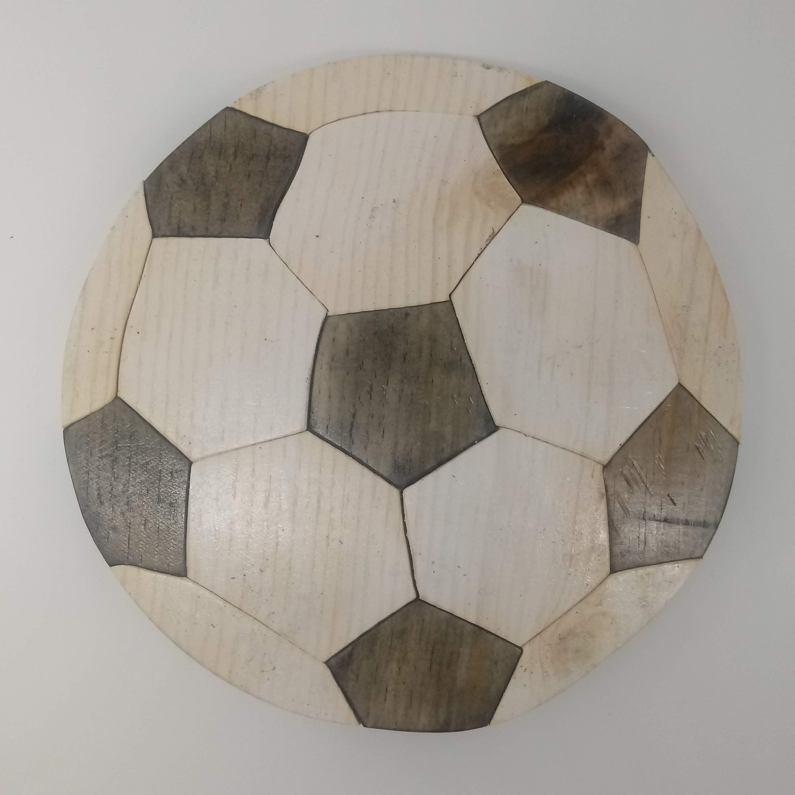 Paper Model of a Truncated Icosahedron (football) | Manualidades ... | 2688x2688
