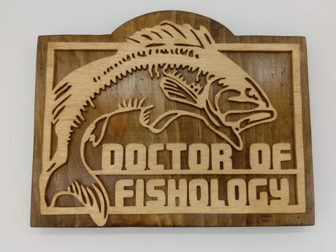 Doctor of Fishology Decoration - Kripp's Kreations