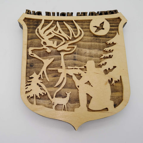 Big Buck Hunter Trophy Plaque