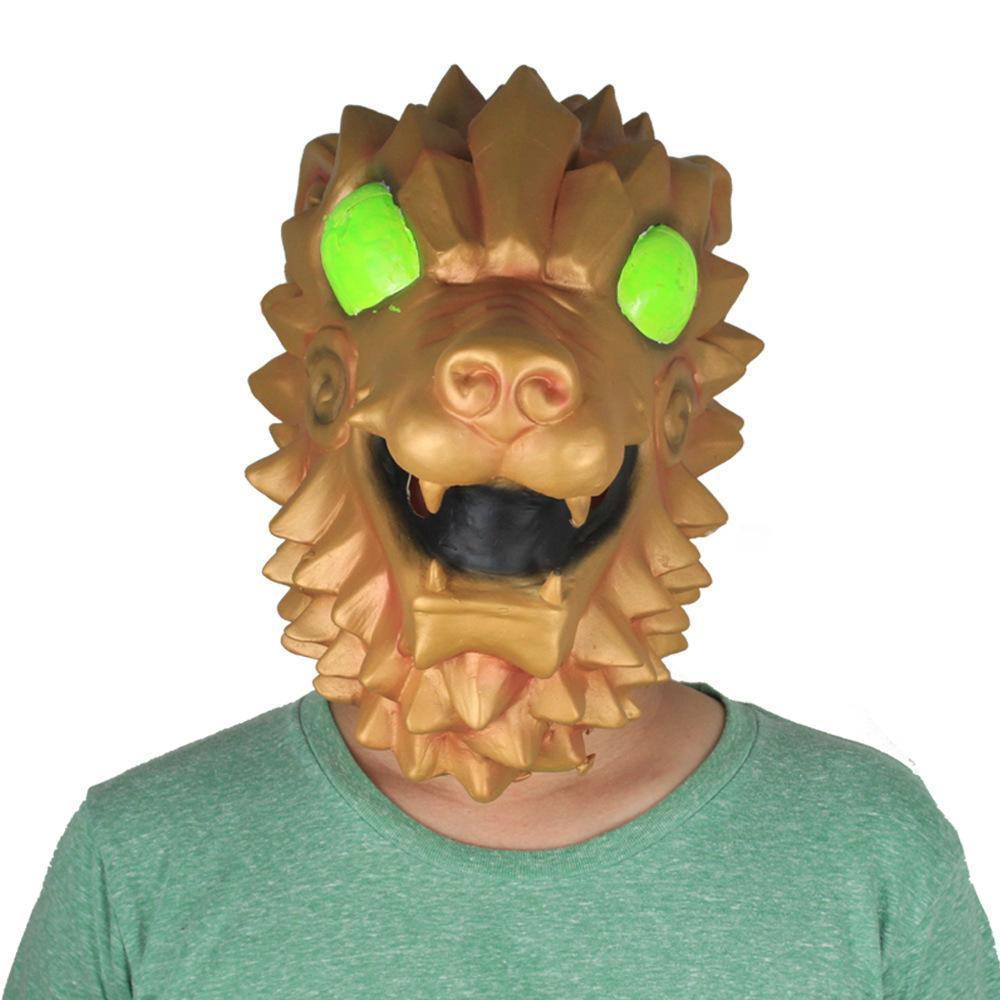 Kids Battle Hound Fortnite Latex Mask Prop Halloween Costume Party Supplies