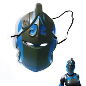 2019 Halloween Frozen Red Knight Fortnite  Paper Mask Costume Prop