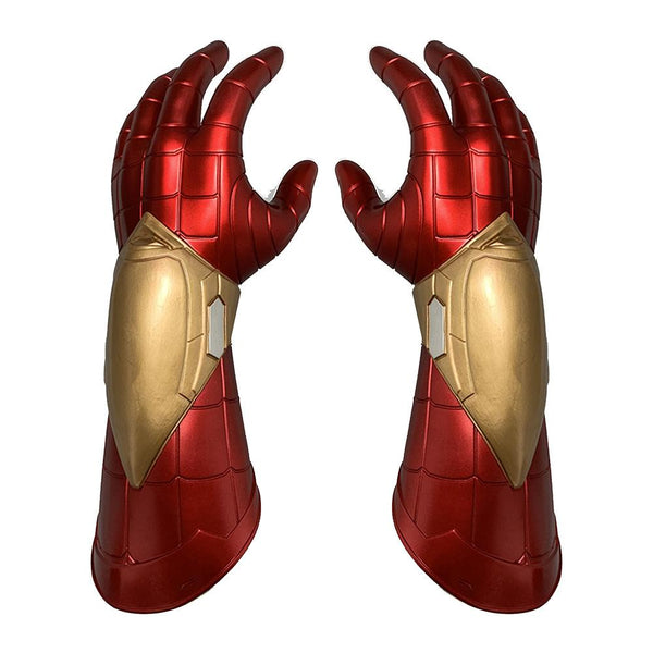 Iron Spider Man Mask And Gloves Far From Home Costume Props Glow In Dark